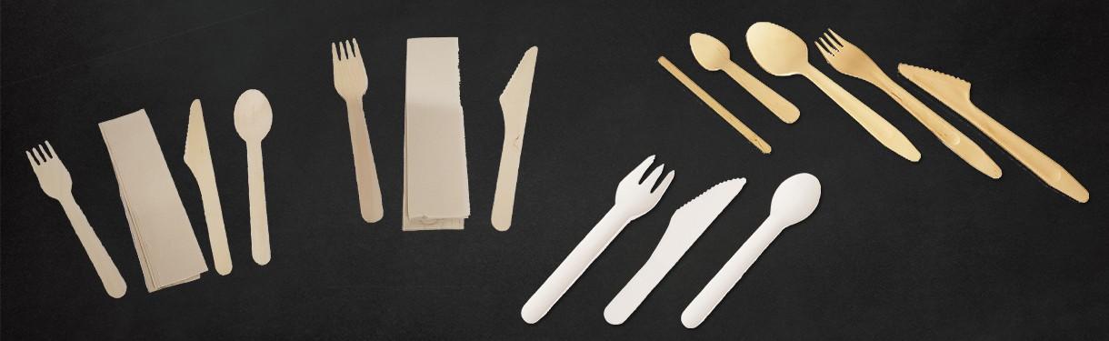 Couverts : Fourchette, couteau, cuillère, kit - Ateliers Porraz