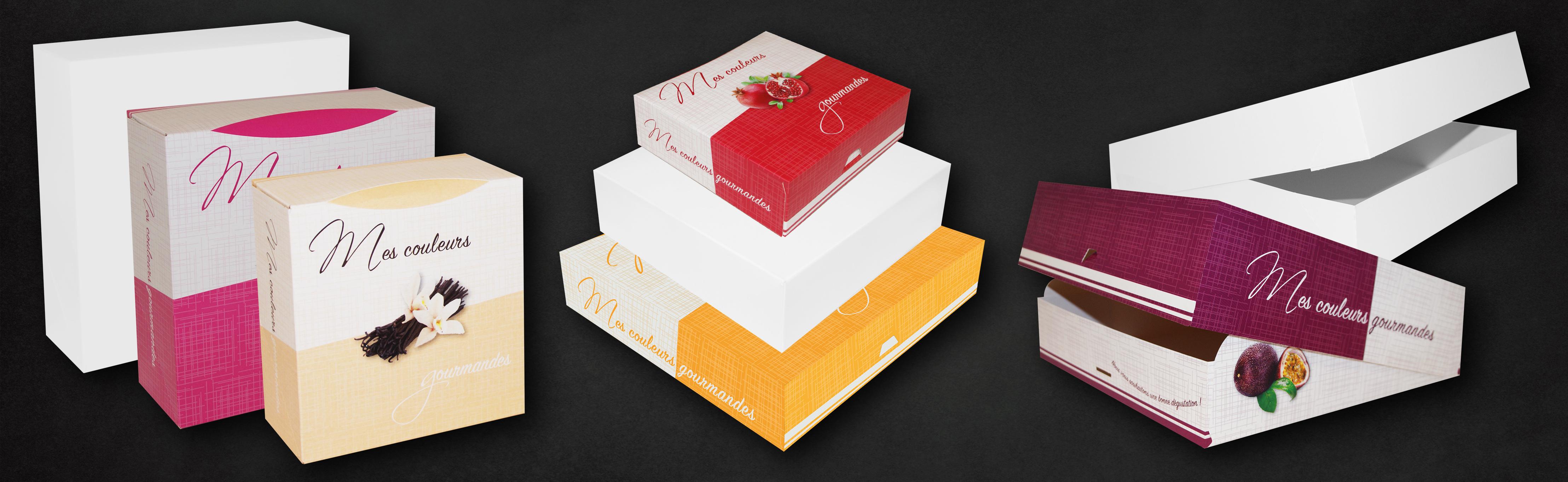 Boîtes à gâteaux pour professionnel et particulier - Ateliers Porraz