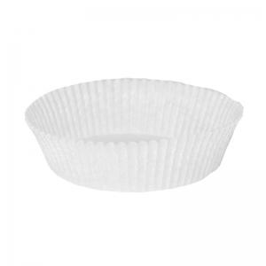 Caissette plissée  blanche N°1209 / Par 1000