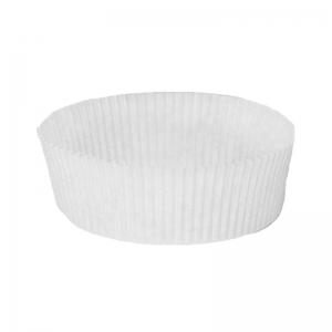Caissette plissée blanche N°1208 / Par 1000