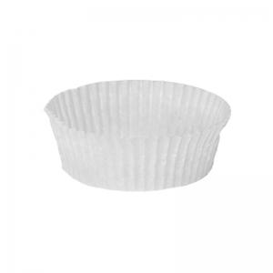 Caissette plissée blanche N°1205 / Par 1000