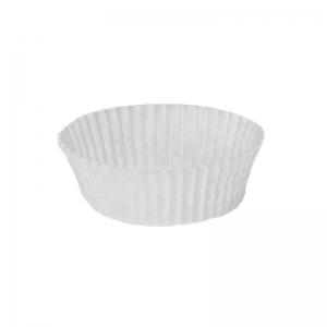 Caissette plissée blanche N°1204 / Par 1000