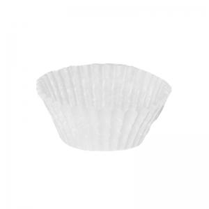 Caissette plissée blanche N°7 / Par 1000