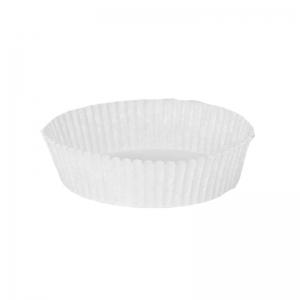 Caissette plissée blanche N°1201F70 / Par 1000