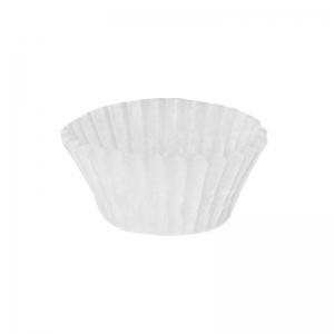 Caissette plissée blanche N° 4 / Par 1000