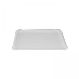 Plateau carton blanc (23x17cm) / Par 250
