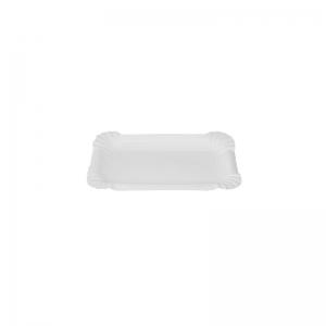 Plateau carton blanc (15x9cm)