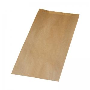 Sac à croissant kraft brun en 14x7x27cm (N°104/P8) / Par 1000