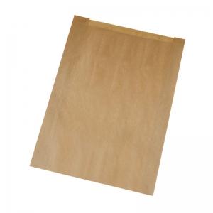 Sac à croissant kraft brun en 18x6x31cm (N°105/P12) / Par 1000