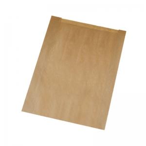 Sac à croissant kraft brun en 12x5x21cm (N°102/P4) / Par 1000
