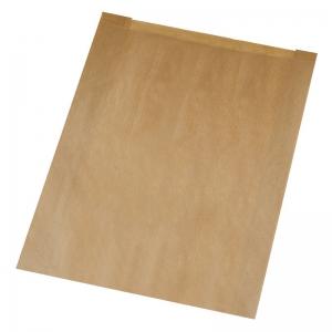 Sac à croissant kraft brun 26X8X37cm (N°107/Brioche) / Par 1000