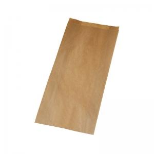 Sac à pain kraft brun (15x6x37cm)