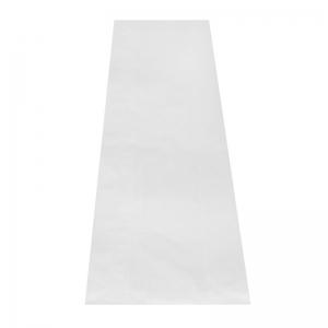 Sac à pain kraft blanc (14x7x41cm)
