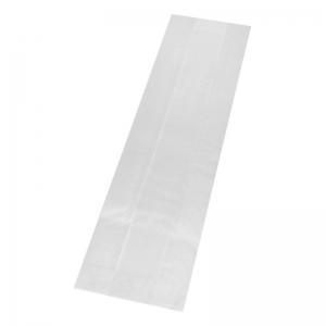 Sac sandwich kraft blanc (10x5x37cm) avec fenêtre / Par 1000