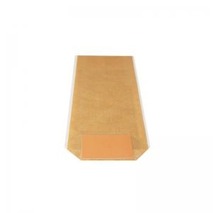 Sac confiserie fond carton 120x275mm (Toile de jute naturelle) / Par 100