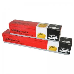 Film étirable alimentaire (0,45x300m) Boîte distributrice / Par 1