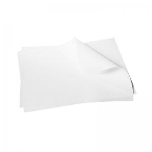 Papier thermo-soudable blanc (50g/m2) Rame en 25x35cm / Par 20kg