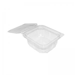 """Barquette plastique avec couvercle (500ml) """"Optipack500"""" / Par 50"""