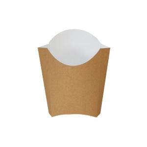Pochette à frites kraft brun (165g) / Par 200