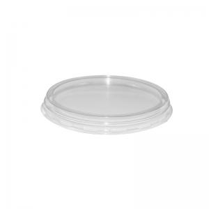 """Couvercle plastique transparent avec trou pour gobelet 30cl """"Shaker"""" / Par 50"""