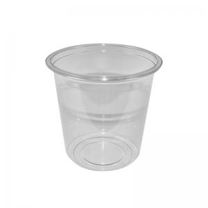 """Barquette plastique avec couvercle séparé (750ml) """"Tusipack-PO750C"""""""