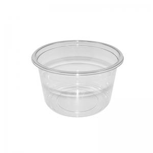"""Barquette plastique avec couvercle séparé (450ml) """"Tusipack-PO450C"""""""