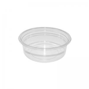 """Barquette plastique avec couvercle séparé (250ml) """"Tusipack-PO250C"""""""