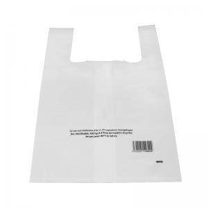 Sac bretelle transparent (35x15+15x55cm) réutilisable / Par 500