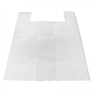 Sac bretelle blanc (40x15+15x80cm) réutilisable / Par 400