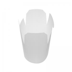 Boîte à emporter kraft blanc (550ml) / Par 50