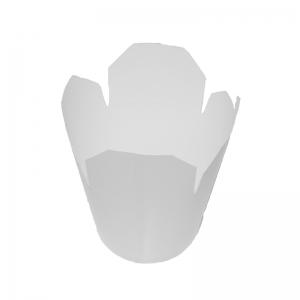 Boîte à emporter kraft blanc (780ml) / Par 50