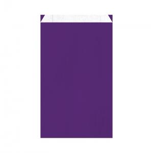 Pochette cadeau violette (24x7,5x41cm) / Par 250