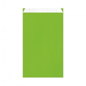 Pochette cadeau vert pomme (24x7,5x41cm) / Par 250