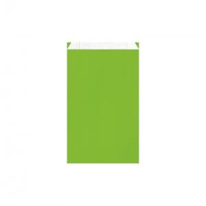 Pochette cadeau vert pomme (16x8x27cm) / Par 250