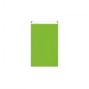Pochette cadeau vert pomme (12x4,5x20cm) / Par 250