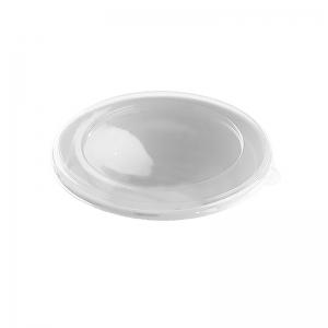 Couvercle RPET pour saladier rond Bagasse (500ml) / Par 500
