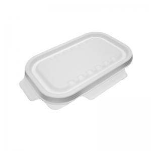 Couvercle à ailettes pour barquette rectangle canne à sucre 850ml et 1000ml / Par 250