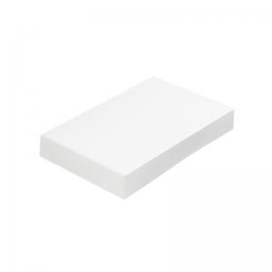 Boite blanche pour plateau traiteur (25X34X6cm) / Par 25