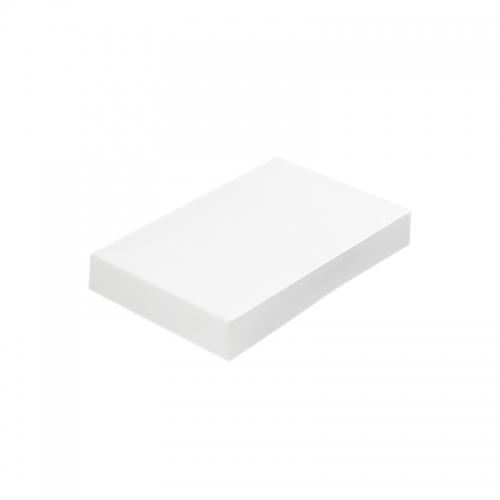 Boite blanche pour plateau traiteur (19x28x6cm) / Par 25