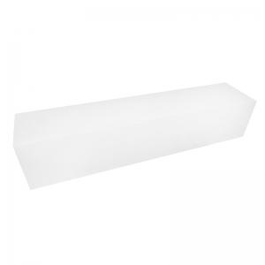 Boîte à buche carton blanc 50x11x10cm / Par 25