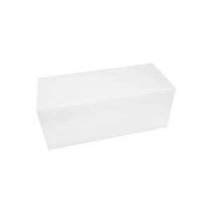 Boîte à buche carton blanc 30x11x10cm / Par 25