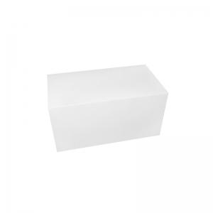 Boîte à buche carton blanc 20x11x10cm / Par 25