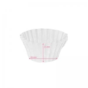 Caissette plissée  blanche N°3 / Par 1000
