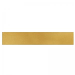 Semelle à buche carton or/noir 100x10cm