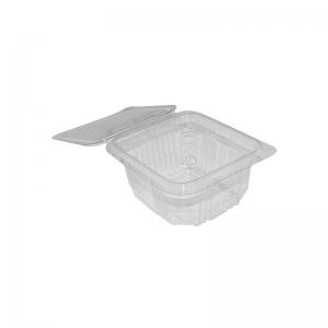 """Barquette plastique avec couvercle (370ml) """"Optipack370"""" / Par 50"""