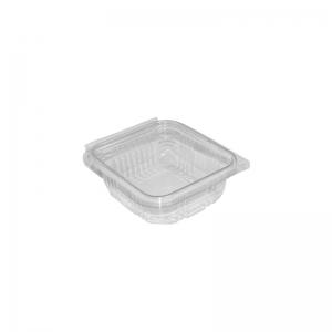 """Barquette plastique avec couvercle (250ml) """"Optipack250"""" / Par 50"""