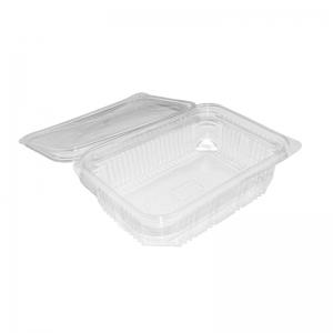 """Barquette plastique avec couvercle (750ml) """"Optipack750"""" / Par 50"""