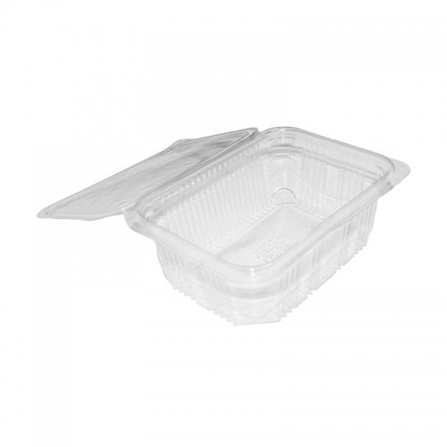 """Barquette plastique avec couvercle (1000ml) """"Optipack1000"""" / Par 50"""