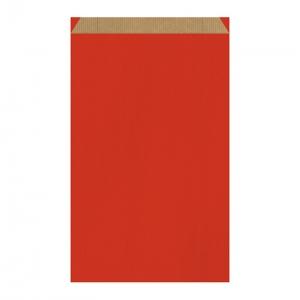 Pochette cadeau rouge (27x7x45cm) / Par 250