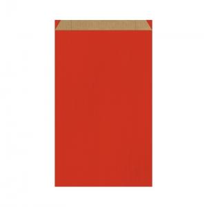 Pochette cadeau rouge (24x7,5x41cm) / Par 250